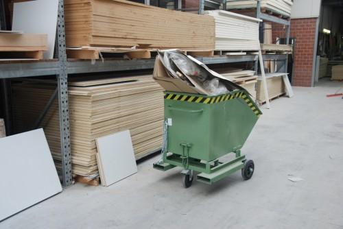 Prezentare produs Containere roaba BAUER - Poza 1
