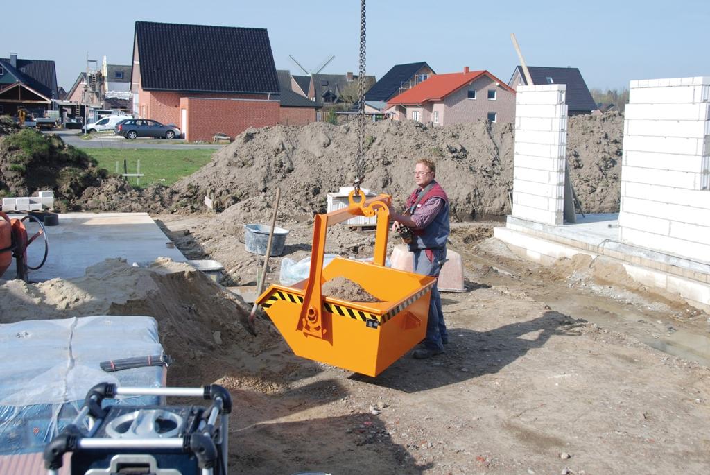 CONTAINER DE CONSTRUCTII - TIP BKG 2 BAUER - Poza 5