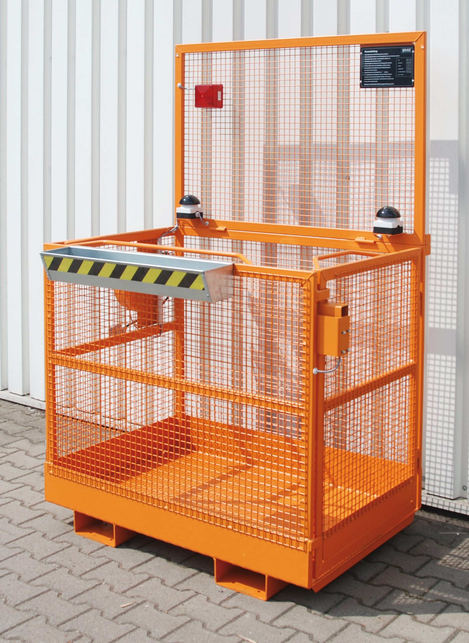 Platforma de protectie TIP MB-ST-T BAUER - Poza 11