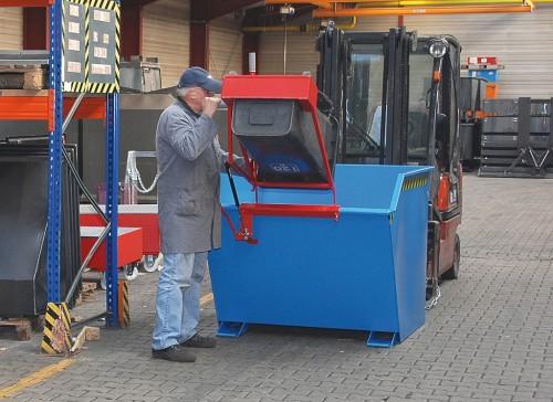 Prezentare produs Cos de reciclare TIP SV BAUER - Poza 4