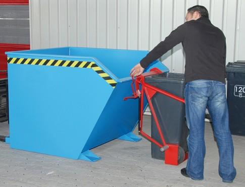 Prezentare produs Cos de reciclare TIP SV BAUER - Poza 6