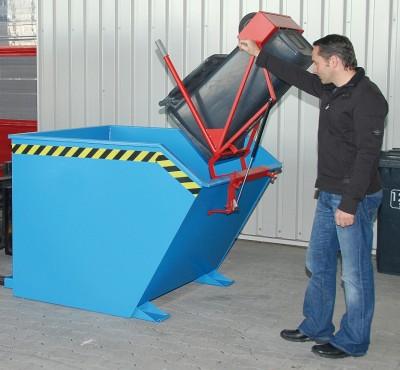 Prezentare produs Cos de reciclare TIP SV BAUER - Poza 7