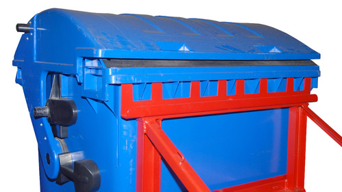 Prezentare produs Suport pentru cos basculant cu roti TIP MH BAUER - Poza 22