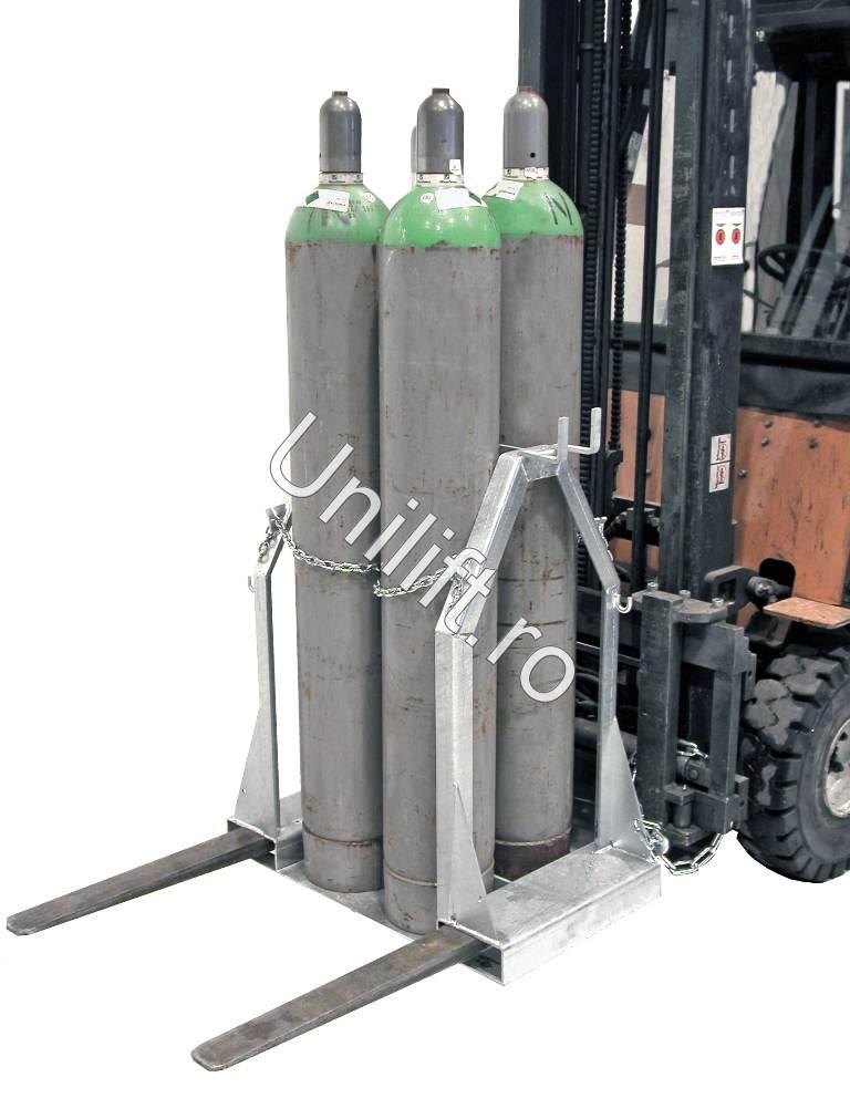 Palet pentru butelie de gaz BAUER - Poza 1