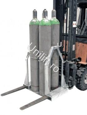 Prezentare produs Palet pentru butelie de gaz BAUER - Poza 1