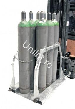 Prezentare produs Palet pentru butelie de gaz BAUER - Poza 3