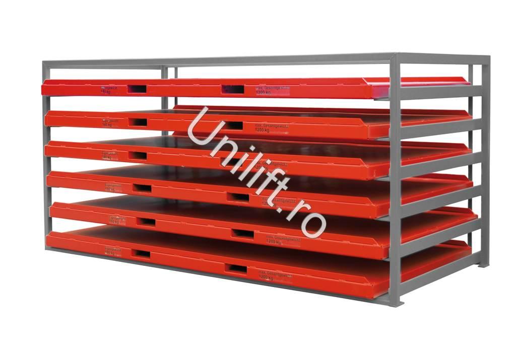 Unitate de depozitare din placi de metal BAUER - Poza 2