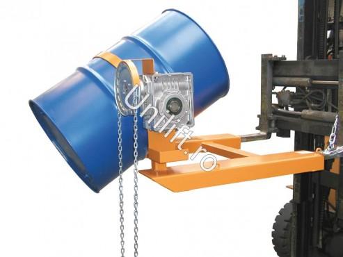 Prezentare produs Dispozitiv de basculare butoaie  TIP FD-K BAUER - Poza 10