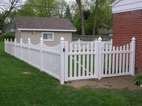 Prezentare produs Gard de tip traditional  AMERICASA - Poza 1