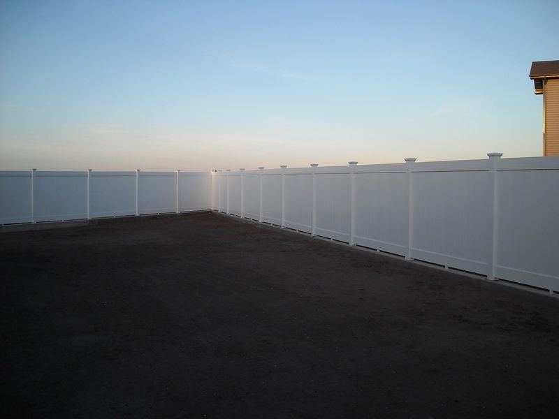 Gard Pvc de tip compact  AMERICASA - Poza 8