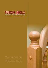 Scari interioare din lemn - Realizate la comanda TURSO HOLZ
