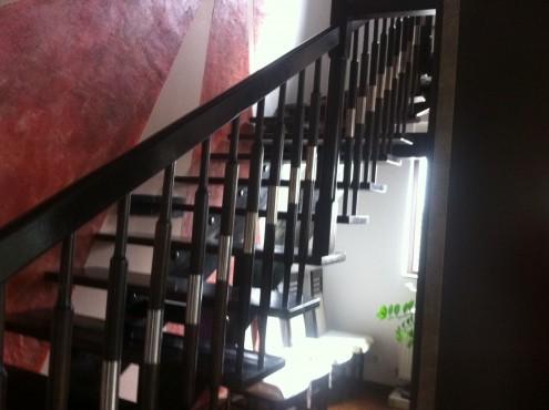 Lucrari, proiecte Scari interioare din lemn - Realizate la comanda TURSO HOLZ - Poza 6