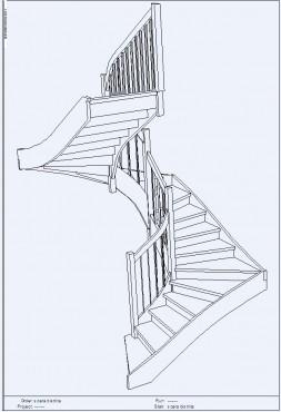Lucrari, proiecte Scara pe structura din lemn - Bistrita TURSO HOLZ - Poza 1