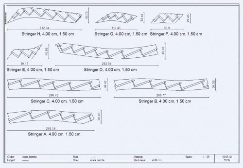 Lucrari, proiecte Scara pe structura din lemn - Bistrita TURSO HOLZ - Poza 3