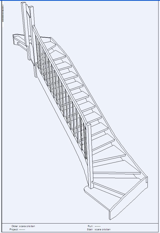 Scari pe structura din lemn realizate la comanda TURSO HOLZ - Poza 3
