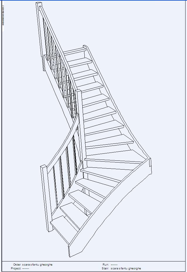Scari pe structura din lemn realizate la comanda TURSO HOLZ - Poza 4