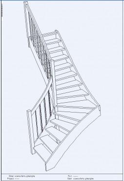Lucrari, proiecte Scari pe structura din lemn realizate la comanda TURSO HOLZ - Poza 4