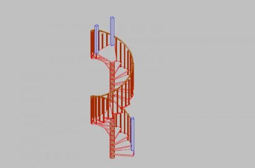 Lucrari, proiecte Scari pe structura din lemn realizate la comanda TURSO HOLZ - Poza 5