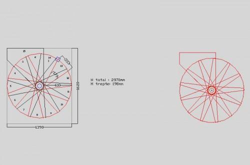 Lucrari, proiecte Scari pe structura din lemn realizate la comanda TURSO HOLZ - Poza 6