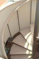 Placari cu lemn pentru scari metalice |