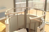 Placari cu lemn pentru scari din metal TURSO HOLZ