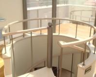 Placari cu lemn pentru scari din metal TURSO HOLZ ofera elemente de placare cu lemn pentru