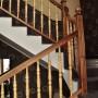 Placare cu lemn masiv - Scara din beton dreapta 02