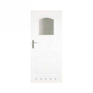 Prezentare produs Usa de interior - Clasic cu Sticla 1-3 si guri de ventilare CLASSEN - Poza 3