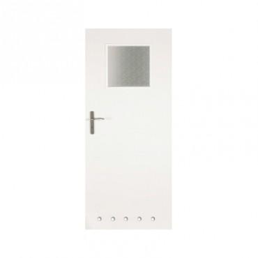 Prezentare produs Usa de interior - Ksantos cu sticla 1-3 si guri de ventilatie CLASSEN - Poza 3