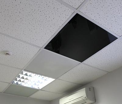 Panou radiant cu posibilitate de incastrare in tavan casetat - THERMOGLASS - A06 Incastrat in tavan PION - Poza 3