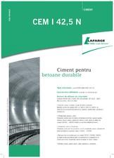 Ciment pentru betoane durabile LAFARGE