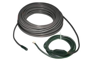 Cablurile electrice pentru incalzire in pardoseala si degivrare Cablurile electrice incalzitoare se pot folosi la incalzirea in pardoseala (sub gresie,parchet,sapa) si degivrarea zonelor exterioare (trepte, trotuare, rampe auto, jgheaburi, burlane, acoperisuri)