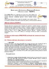 SCOP-C - Sistem pentru conducerea si organizarea productiei in constructii si instalatii SOFTEH PLUS