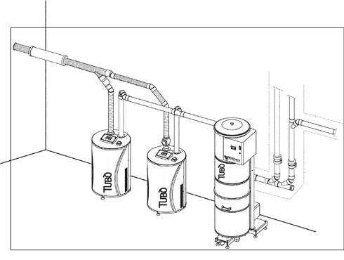 Prezentare produs Sistem centralizat de aspiratie pentru uz industrial TUBO - Poza 7