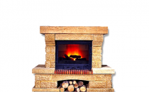 Seminee pe lemn Semineele pe lemn AMBIENT pot fi montate de colt sau de perete. Sunt din marmura naturala, gresie naturala. Semineele sunt dotate cu spatiu pentru lemne.