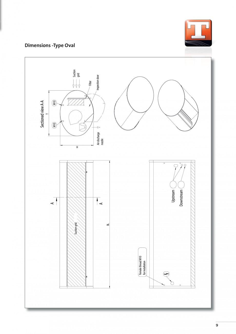 Pagina 7 - Perdea de aer arhitecturala TEDDINGTON ELLIPSE Fisa tehnica Engleza 0  Step 2  [kW]  6.0 ...