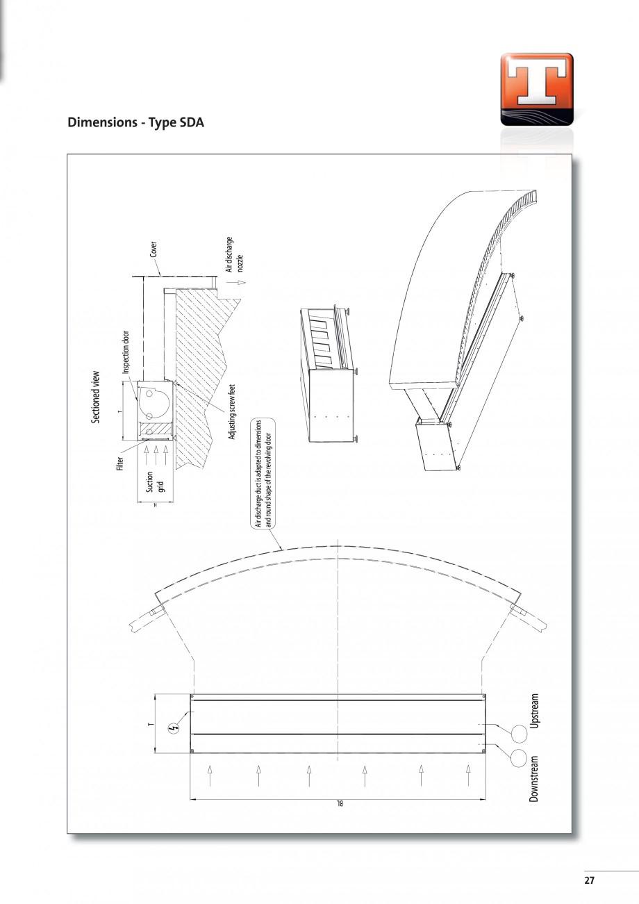 Pagina 5 - Perdea de aer arhitecturala pentru usi rotative TEDDINGTON RONDO Fisa tehnica Engleza  3....