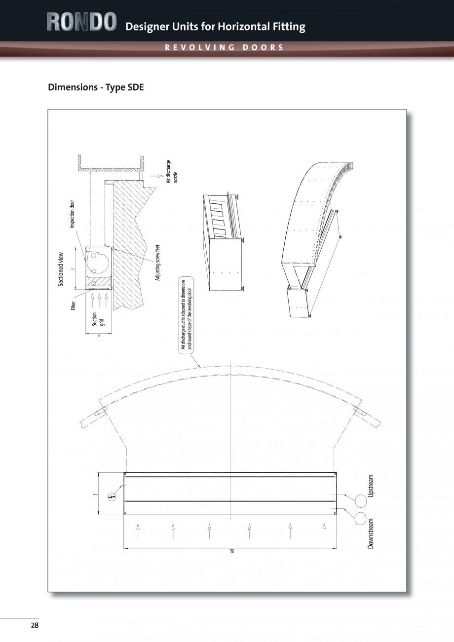 Pagina 6 - Perdea de aer arhitecturala pentru usi rotative TEDDINGTON RONDO Fisa tehnica Engleza .13...
