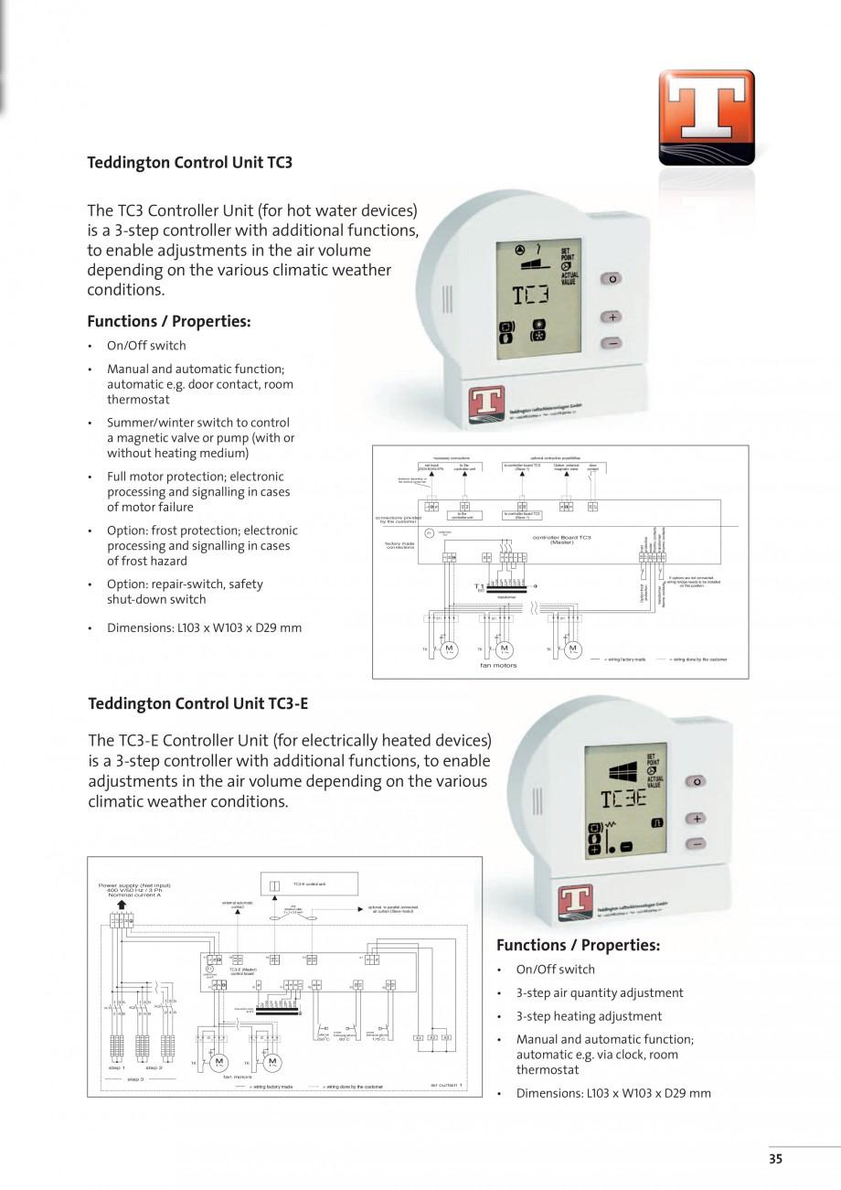Pagina 11 - Perdea de aer arhitecturala TEDDINGTON TOPAS Fisa tehnica Engleza al valve for...