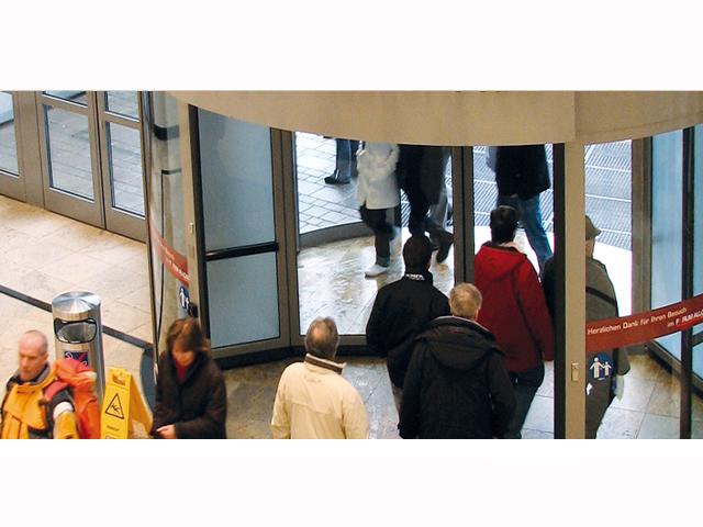 Perdea de aer arhitecturala pentru usi rotative Rondo2 TEDDINGTON - Poza 7