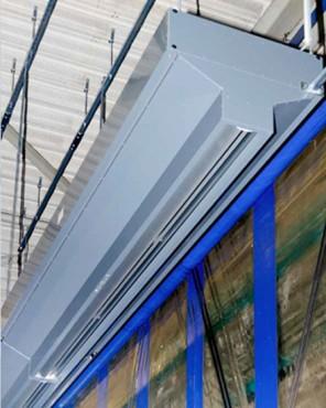 Exemple de utilizare Perdea de aer industriala Ratiovent TEDDINGTON - Poza 1