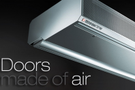 Perdele de aer pentru aplicatii industriale, comerciale, birouri