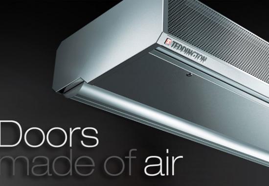 Perdele de aer pentru aplicatii industriale, comerciale, birouri TEDDINGTON