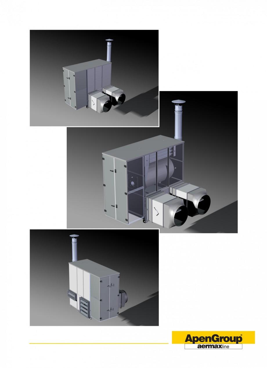 Pagina 5 - Generatoare de aer cald cabinet APEN PK-SPORT Fisa tehnica Engleza eneratore, costituita ...