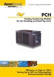 Generatoare de aer cald incorporabile APEN - PCH