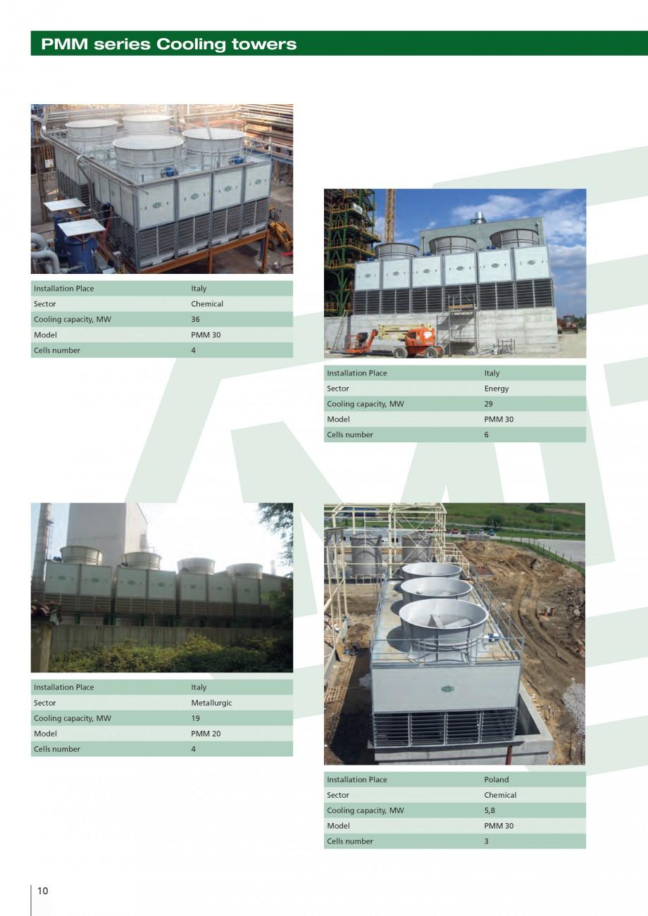 Pagina 10 - Turnuri de racire cu circuit deschis MITA PMM Fisa tehnica Engleza