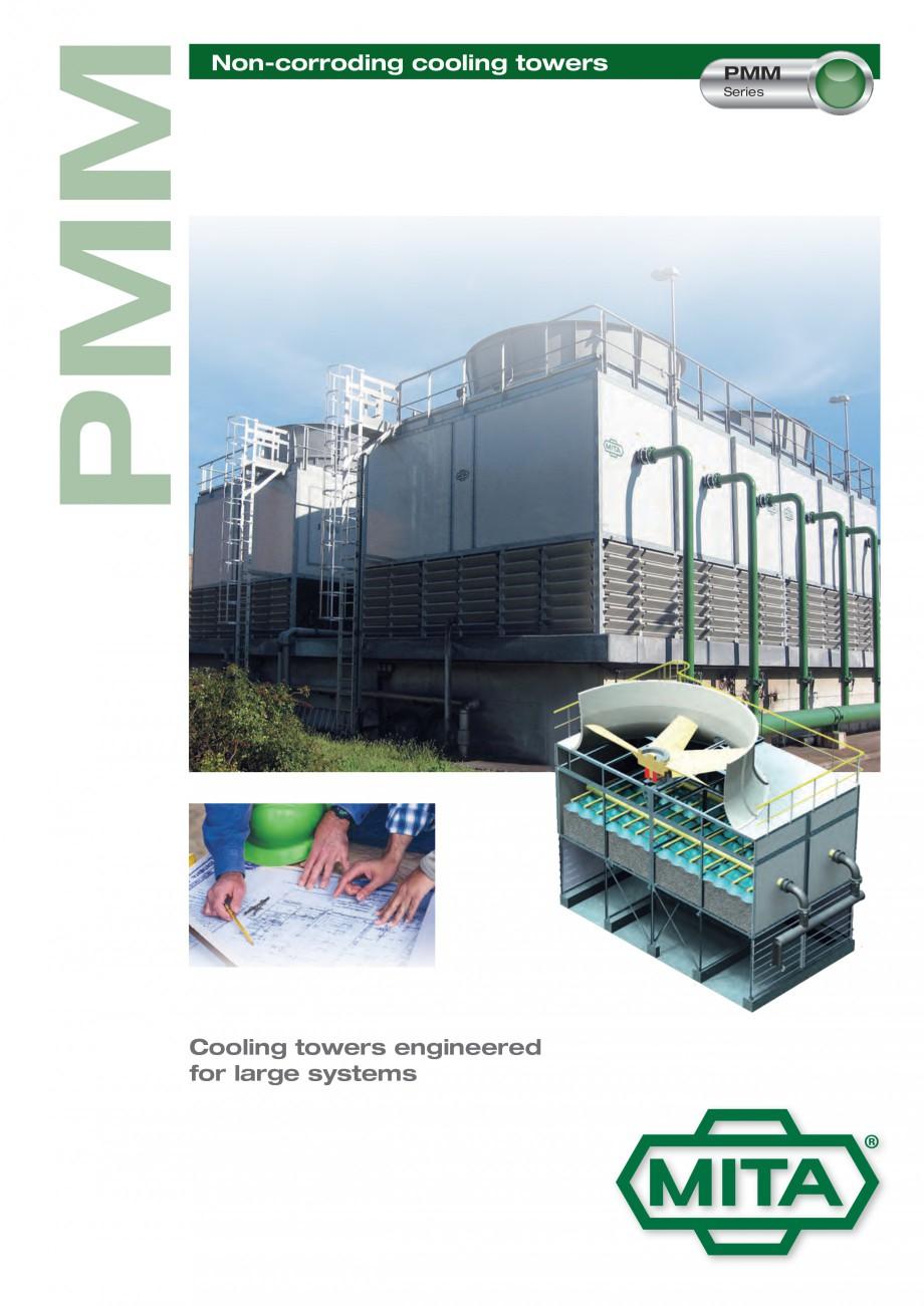 Pagina 1 - Turnuri de racire cu circuit deschis MITA PMM Fisa tehnica Engleza PMM  Non-corroding...