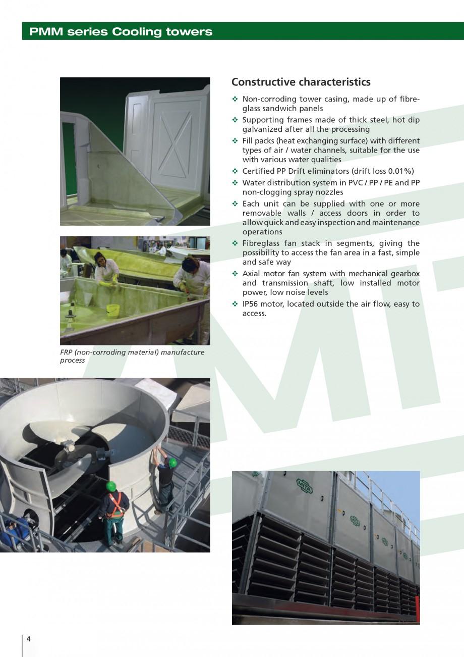 Pagina 4 - Turnuri de racire cu circuit deschis MITA PMM Fisa tehnica Engleza ng solutions for over ...