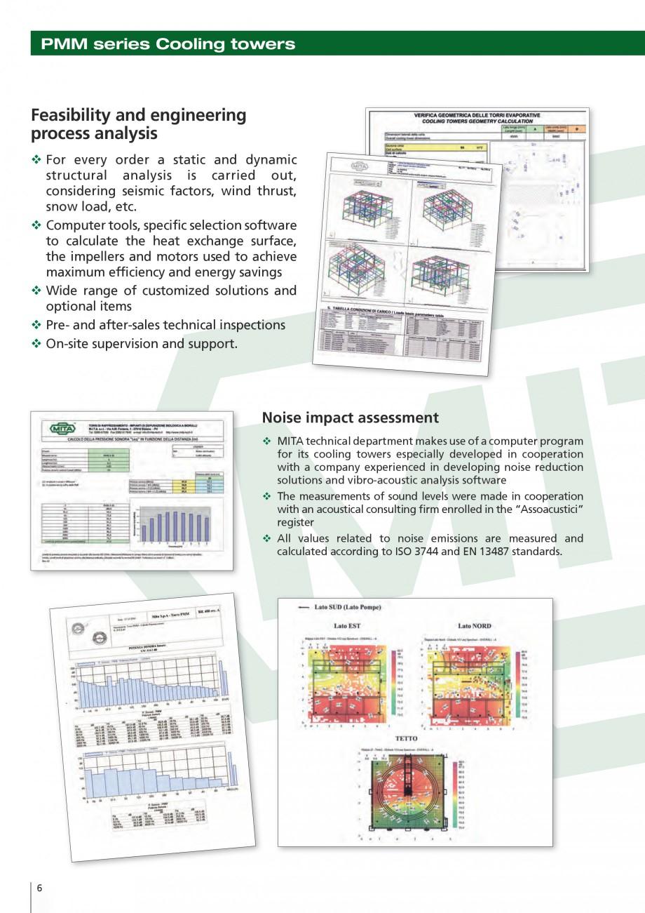 Pagina 6 - Turnuri de racire cu circuit deschis MITA PMM Fisa tehnica Engleza und levels were made...