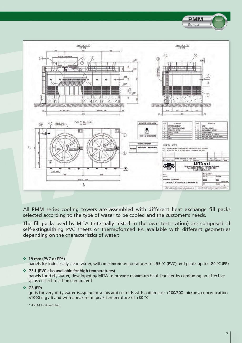 Pagina 7 - Turnuri de racire cu circuit deschis MITA PMM Fisa tehnica Engleza ed solids and colloids...